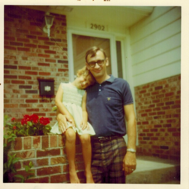 Jane and her dad from long ago.
